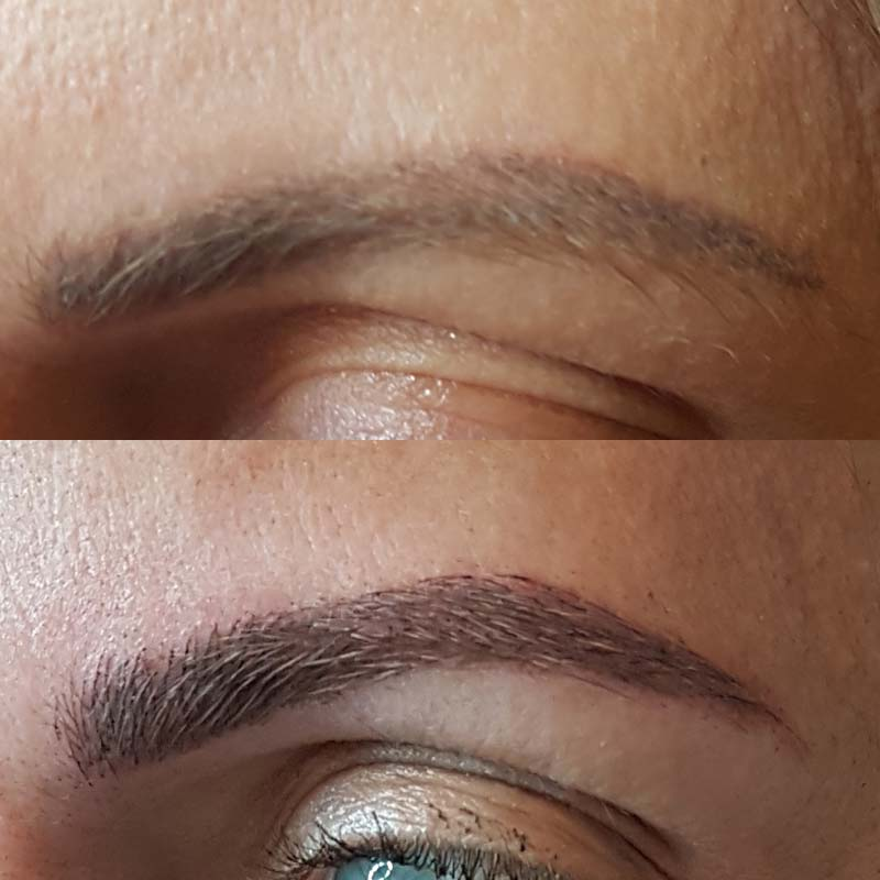 Microblading in Walsall Before & After